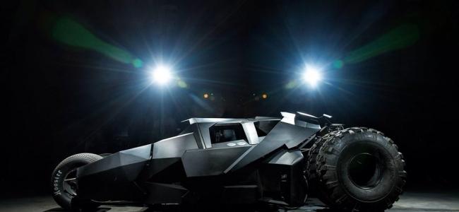 Batmobile воплощен в жизнь разработчиками из OAЭ + HD фото.