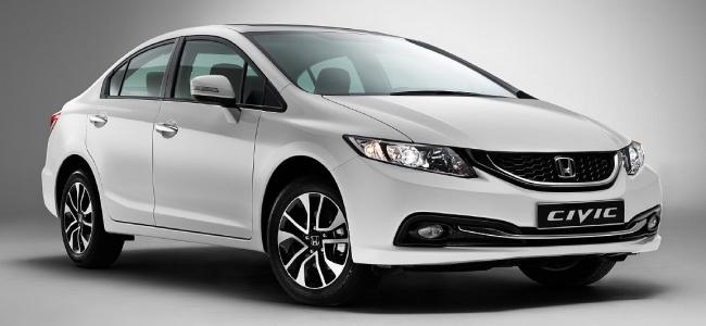 Honda представила обновленный седан Civic.