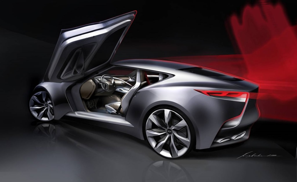 Hyundai Luxury Coupe Concept HND-9 2