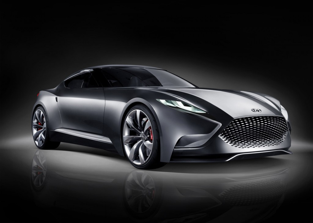 Hyundai Luxury Coupe Concept HND-9 3